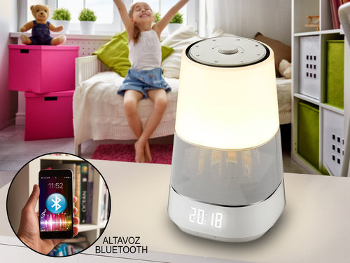 LAMPARA ALTAVOZ LUX BLUETOOTH LED SCHULLER